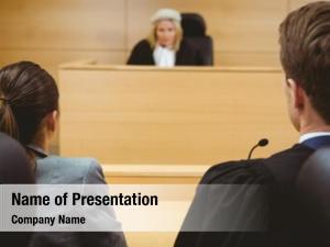 Lawyers judge talking make decision