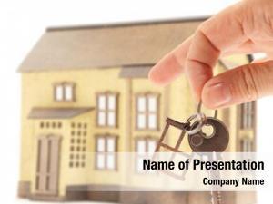 House handing keys