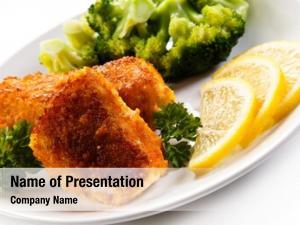 Fried fish dish fish fillets