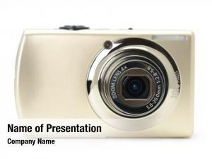Camera compact digital white