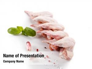 Chicken fresh raw wings