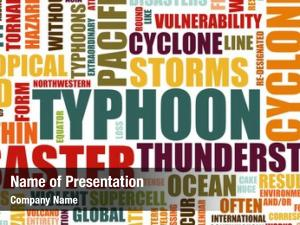 Disaster typhoon natural art background