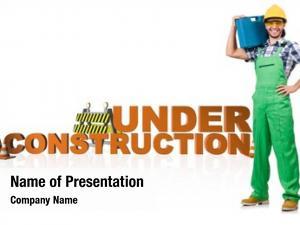 Under Maintenance PowerPoint Templates - Under Maintenance
