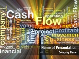 Wordcloud background concept cash flow