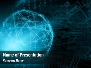 Wi fi technological symbols internet television