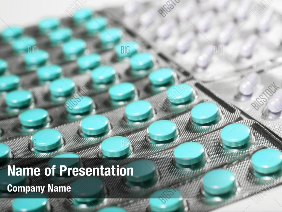 Medicine Pills Powerpoint Template Medicine Pills