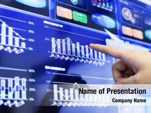 Business clicking analysis financial report