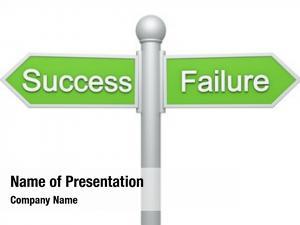 Success street signpost failure
